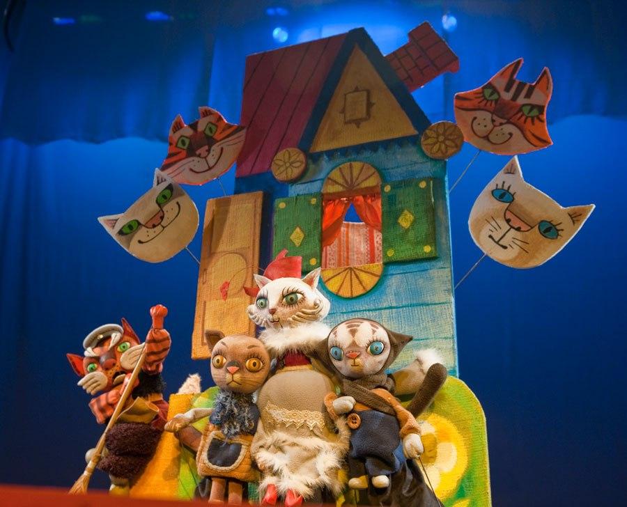 Кошкин дом кукольный театр своими руками 17