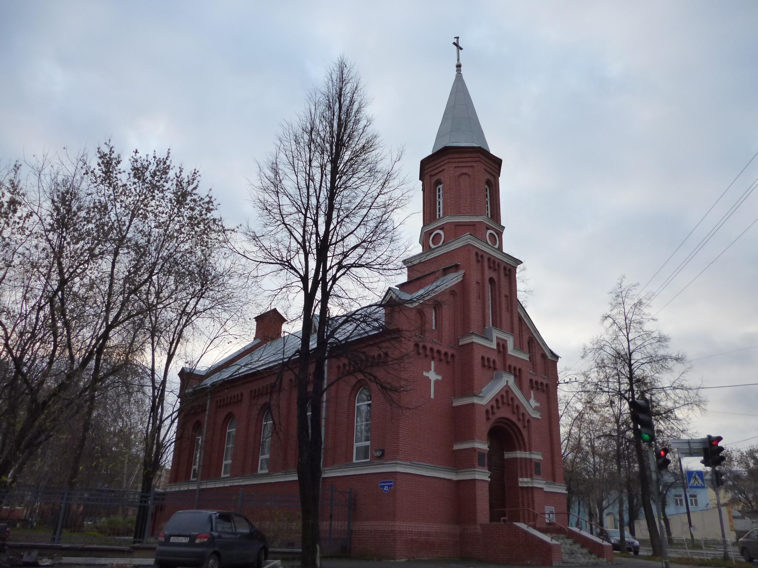 Евангелическо-лютеранская церковь святой екатерины в санкт-петербурге