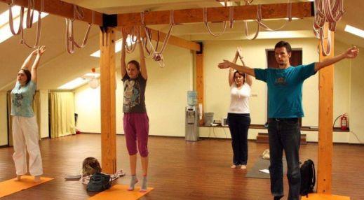 студия йоги бкс айенгара, зал