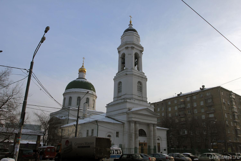 церкви на павелецкой фото альтернативная