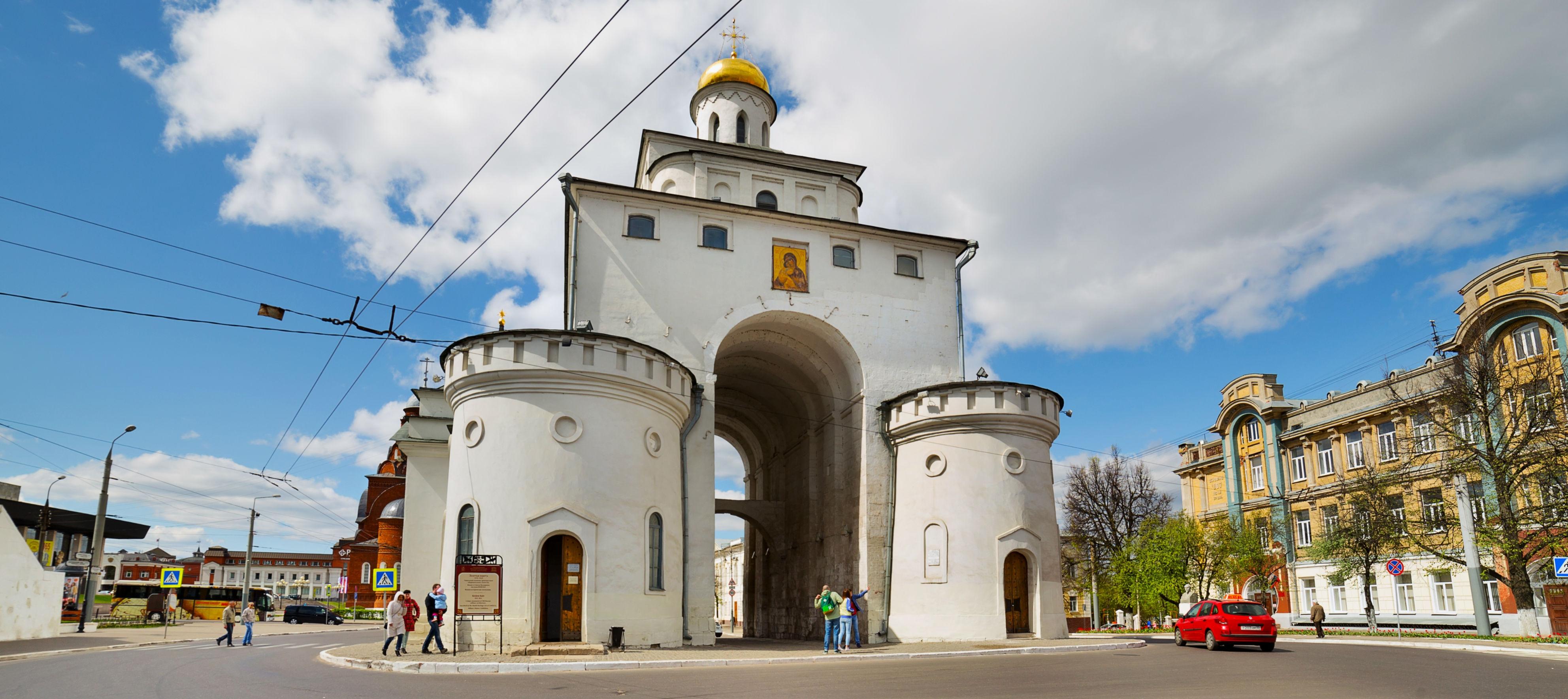 золотые ворота владимир фото подробной