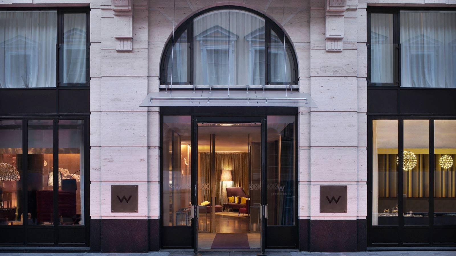 W St Petersburg  лучший дизайнерский отель в сердце Санкт