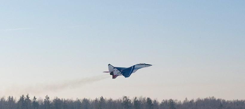 Полёт на МиГ-29 «Страна Туризма Мск»
