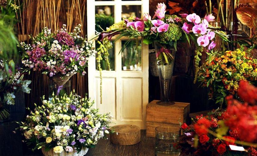 Цветочный домик Ginza