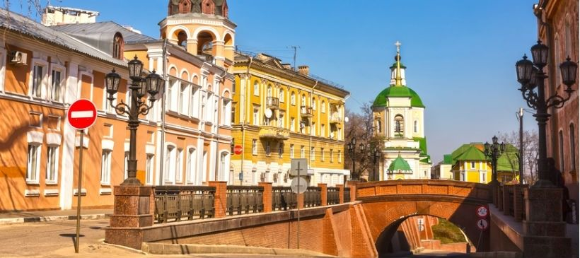 Улица «Старо-Московская» — район улицы Карла Маркса