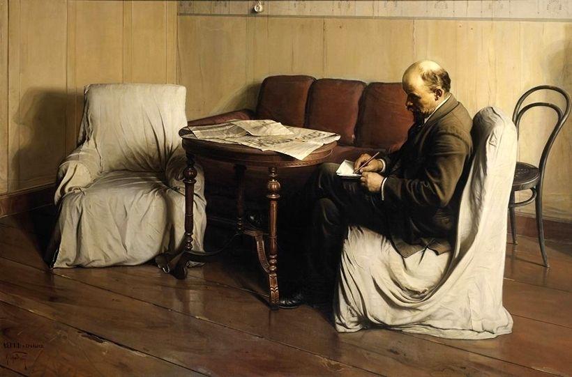 «В.И. Ленин в Смольном», Исаак Бродский