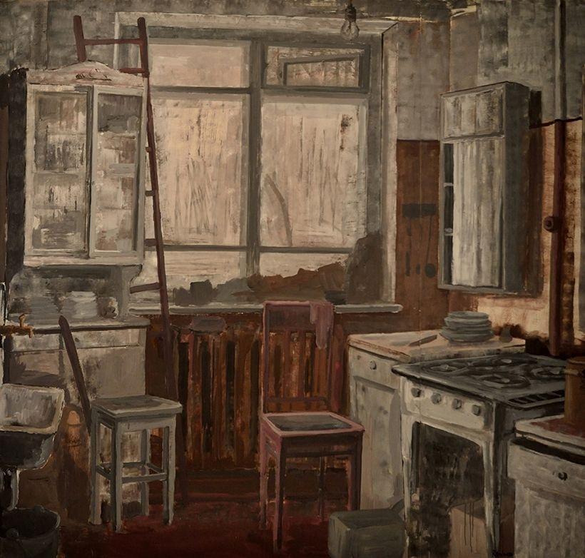 «Коммунальная кухня», Михаил Рогинский