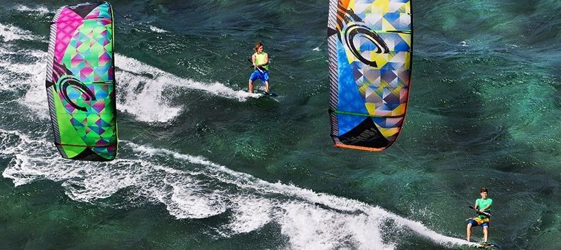 Кайтсерфинг вместе с Surf-Point