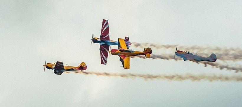 Пилотирование самолета в клубе «Первый полет»