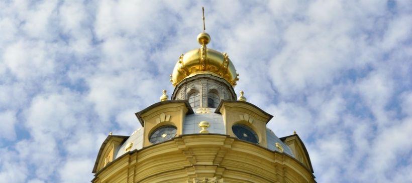 Смотровая площадка на колокольне Петропавловского собора