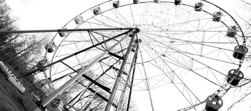 Колесо обозрения в парке имени И.В. Бабушкина