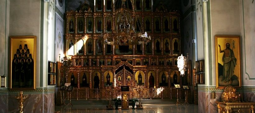 Храм в честь священномученика Кирилла Казанского