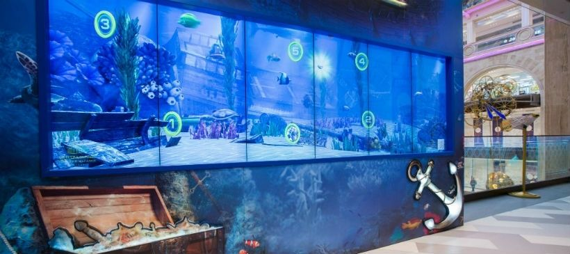 Самый большой виртуальный аквариум