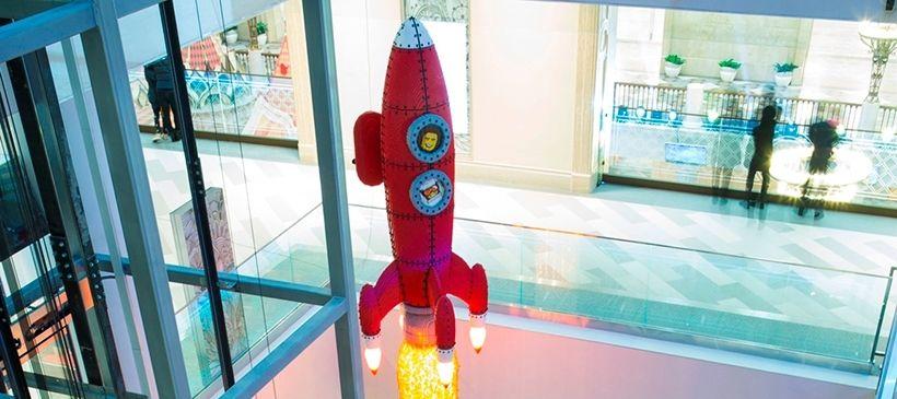 Самая большая в мире модель LEGO