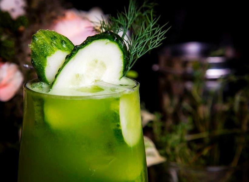 Fresh «Gurka» drink в ресторане Scandinavia