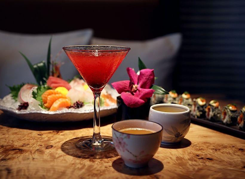 Japanese Cosmopolitan в ресторане Fumisawa Sushi