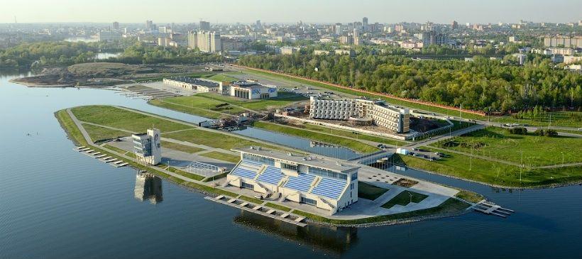 Парк около «Центра гребных видов спорта»