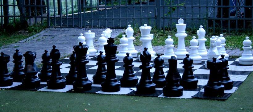 Шахматно-шашечный павильон