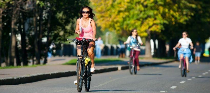 Велопрогулка по набережной