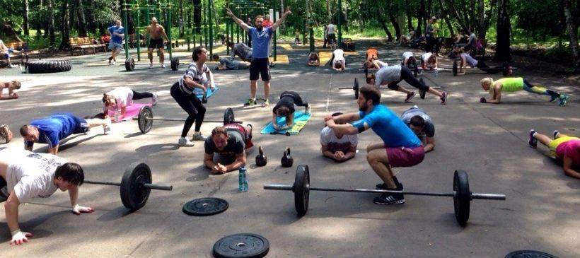 Занятия по CrossFit