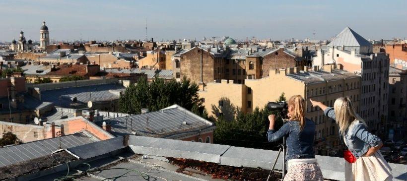 Крыша Лофт-проекта «Этажи»
