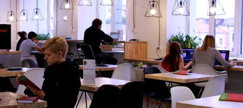 Кофейня-коворкинг «Кофе-станция»