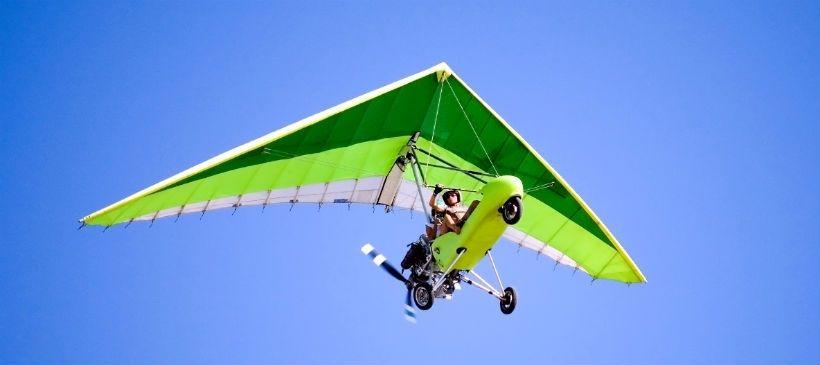 Полет на дельтаплане