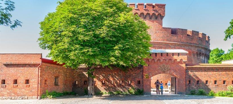 Музея янтаря, башня «Дона» и Росгартенские ворота
