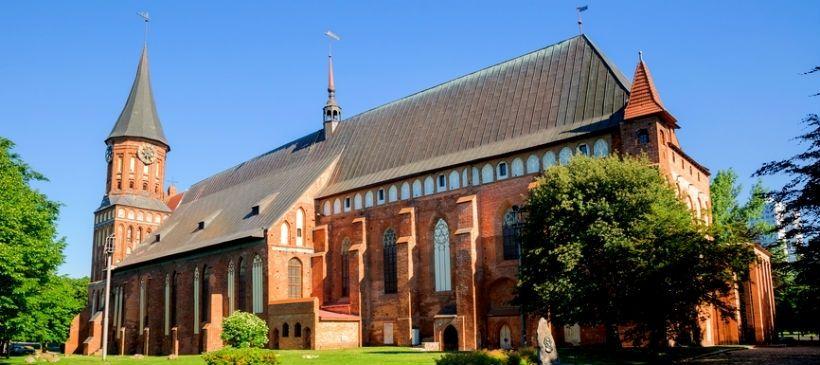 Кёнигсбергский кафедральный собор и могила Канта