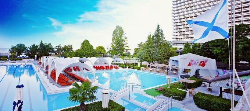 Пляжный комплекс Гранд-отеля «Жемчужина»