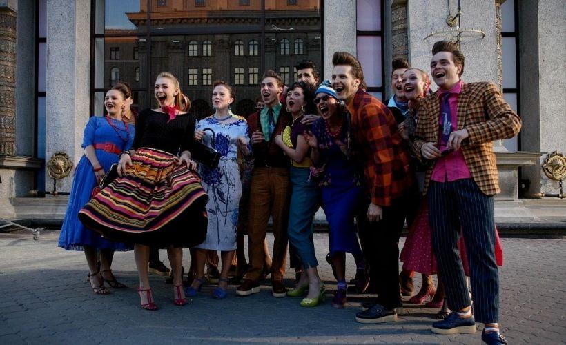 Фестиваль «Московское кино» на центральных улицах Москвы