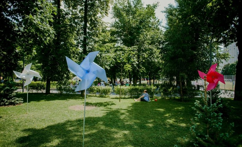 День Города в стиле POP-UP! POP-ART! В Таганском парке