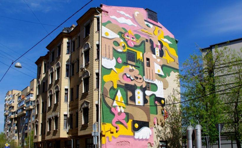 Граффити Вовы Гупалова — 2