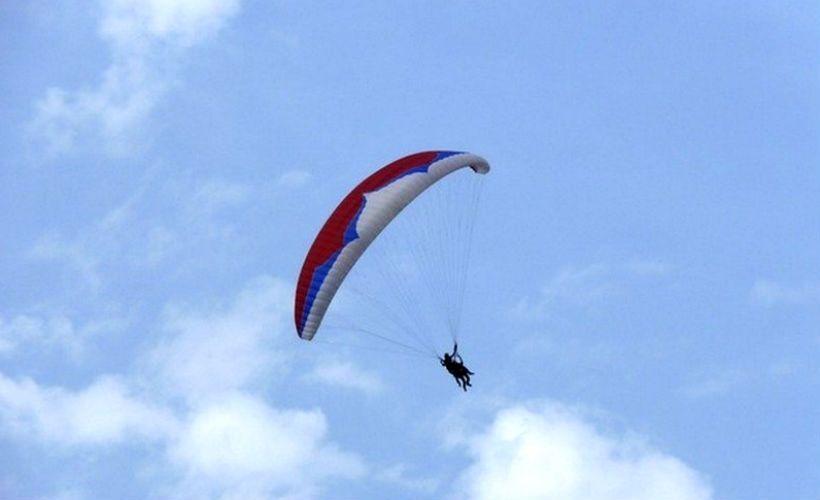 Полет на параплане с клубом «Вектор»