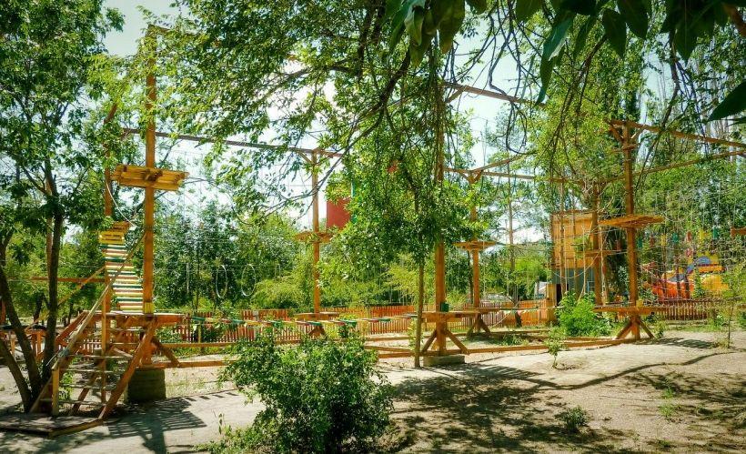 Веревочный парк «Город приключений»