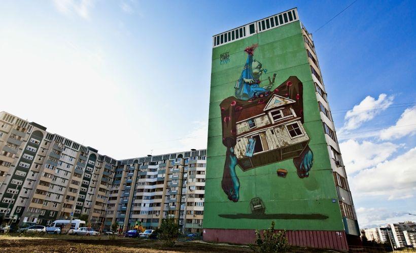 Граффити Etam Cru (Sainer & Bezt) (Польша)
