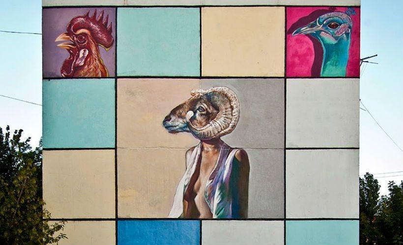 Граффити Caktus & Maria (Италия)