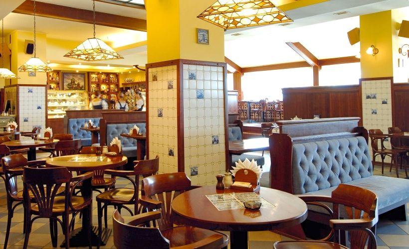 Обед в ресторане «Голландская чашка»