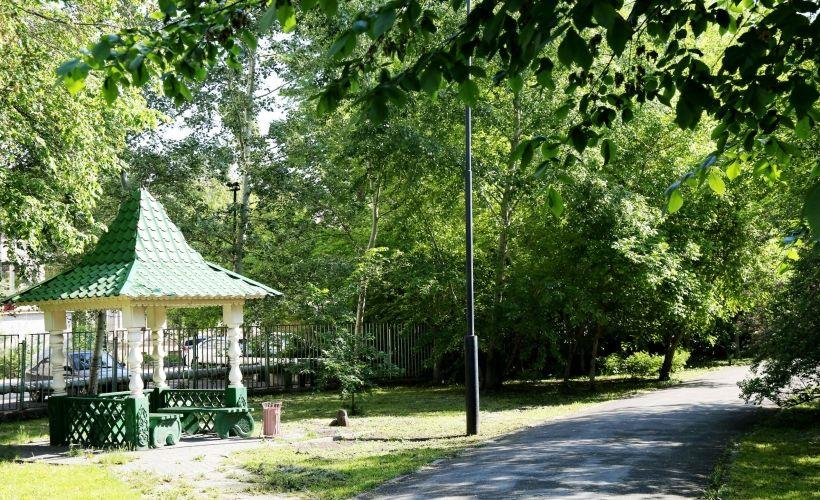Городской сад имени А.С. Пушкина