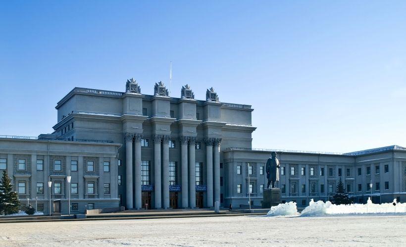 Площадь Куйбышева и Театр оперы и балета
