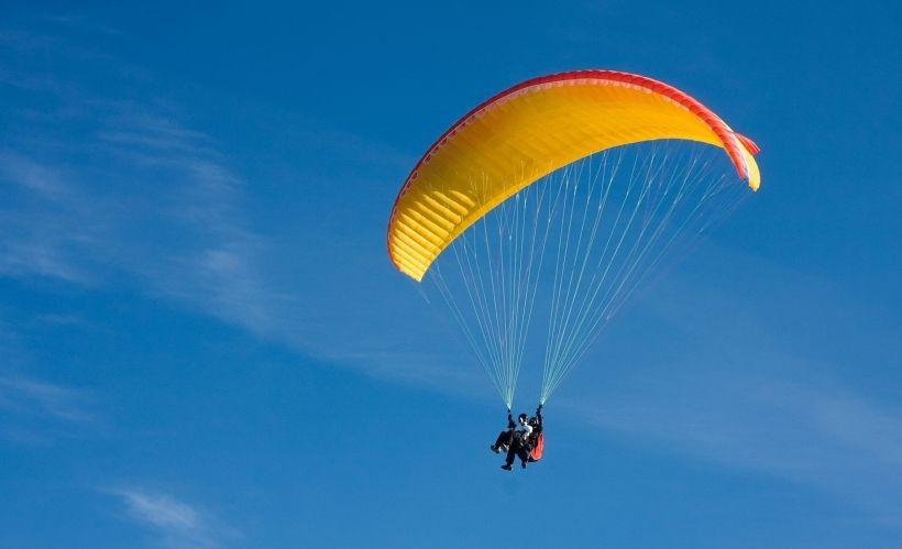 Полёт на параплане с клубом «Грань-Аэро»