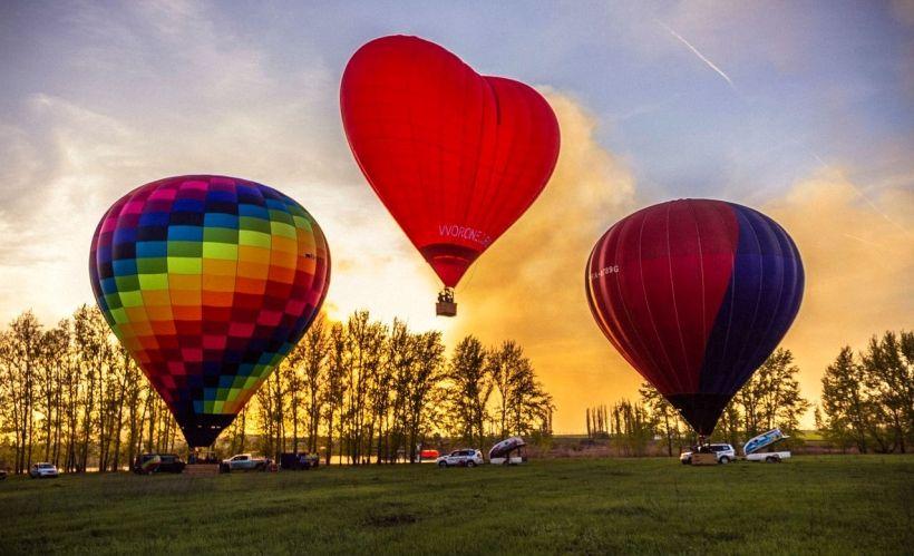 Полёт на воздушном шаре с клубом «Воздухоплаватели»