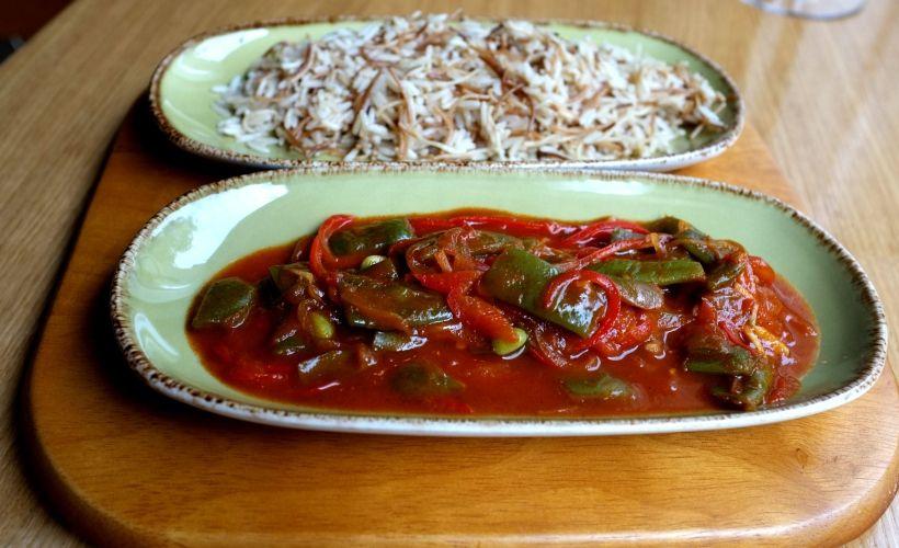 Ливанская кухня в ресторане Mr. Ливанец