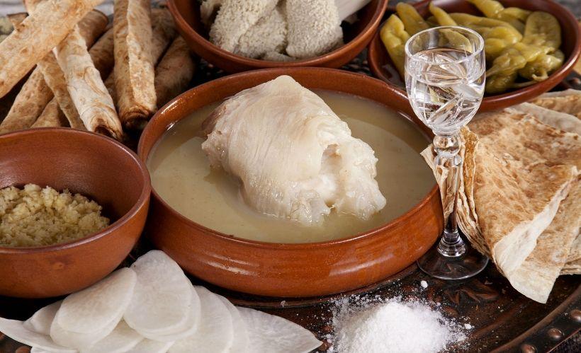 Армянская кухня в ресторане Gayane's