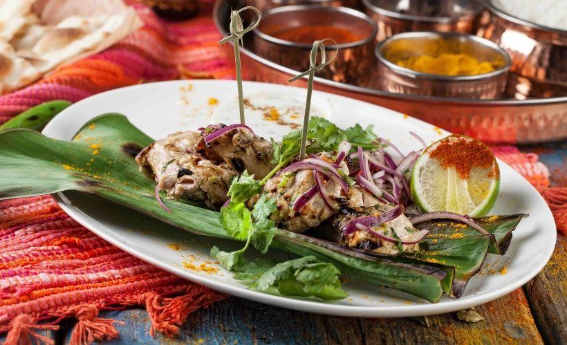 Индийская кухня в ресторане «Жизнь Пи»