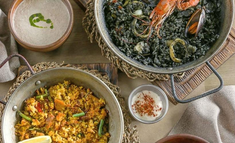 Испанская кухня в ресторане PaPaella