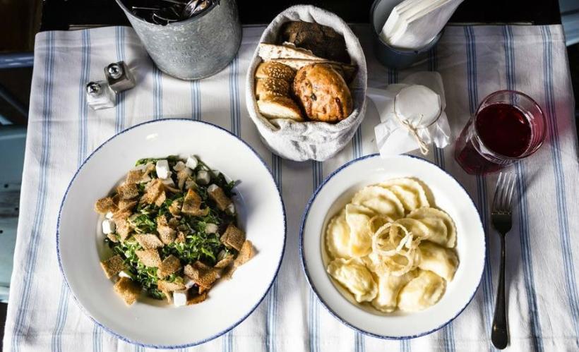Одесская кухня в кафе «Одесса-мама»