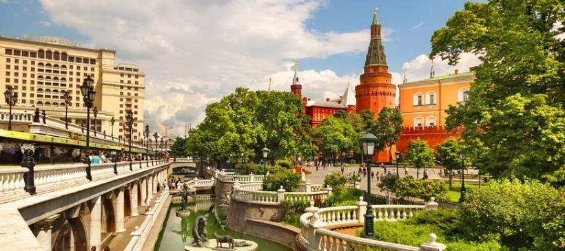 Александровский сад и Кремль