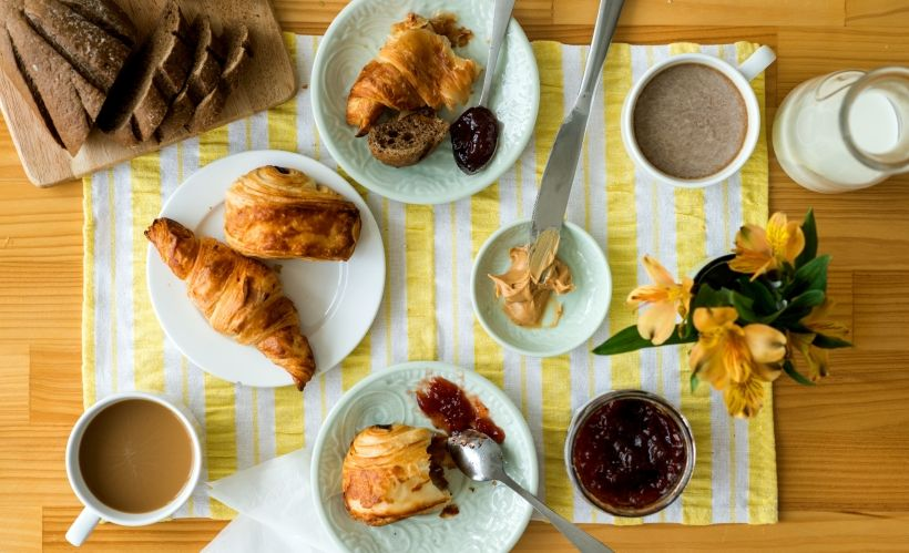 Завтрак в кофейне «Парижанка»