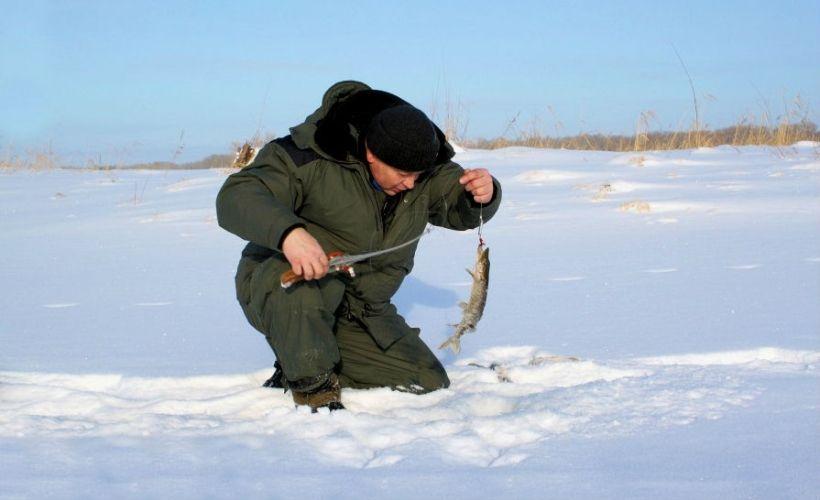 Зимняя рыбалка на базе «Клёвое место»